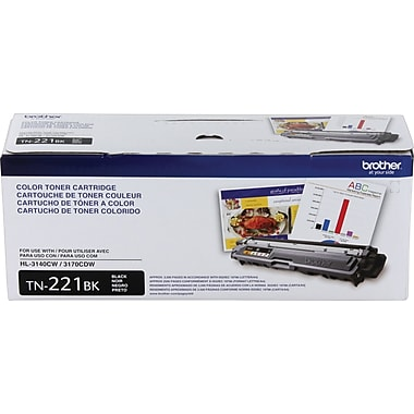 Brother TN221 Black Toner Cartridge (TN221BK)