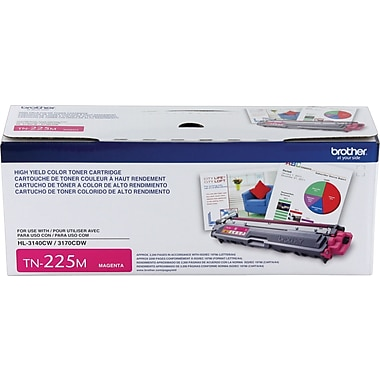Brother – Cartouche de toner magenta TN225 rendement élevé (TN225M)