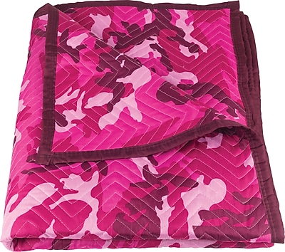 American Moving Supplies Pink Camouflage Moving Blanket (FP2081E)