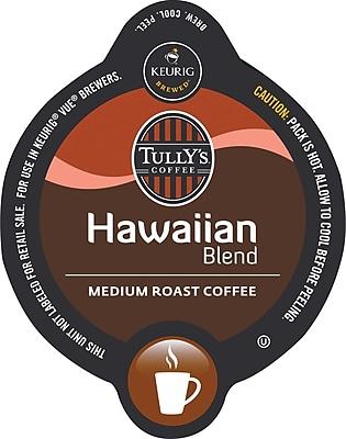 Keurig® Vue® Pack Tully's® Hawaiian Blend Coffee, Regular, 16/Pack