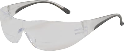 Bouton® Optical Eyewear, Zenon Z12R Reading Magnifier Glasses, Clear With Anti-scratch Coating +2.0