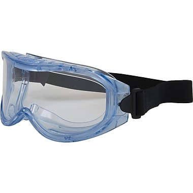 Contempo Safety Goggles, Clear Frame, Clearn Lens, Antifog & Antiscratch Coating