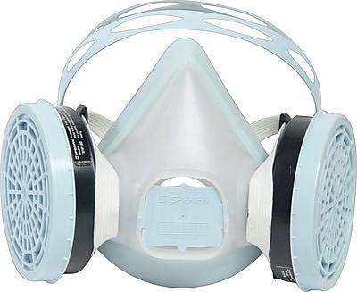 Sperian Freedom Elastomeric Disposable Half Mask Respirators, Large Size