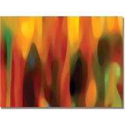 """Trademark Global Amy Vangsgard """"Forest Sunlight Horizontal"""" Canvas Art, 35"""" x 47"""""""