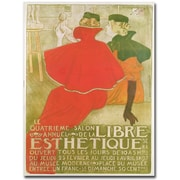 "Trademark Global ""Salon Annuel de la Libre Esthetique, 1897"" Canvas Arts"