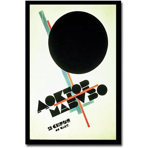 "Trademark Global Kazmir Malevich ""Dr.Mabuso 1922"" Canvas Art, 47"" x 30"""