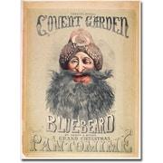 """Trademark Global Matthew Morgan """"Blue Beard, 1860"""" Canvas Art, 24"""" x 16"""""""