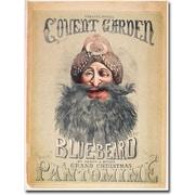 """Trademark Global Matthew Morgan """"Blue Beard, 1860"""" Canvas Art, 47"""" x 35"""""""