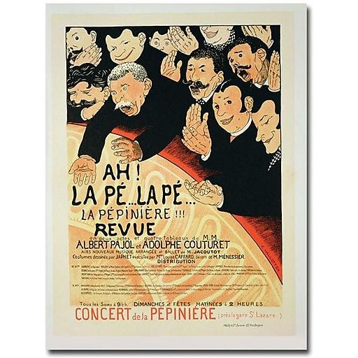 """Trademark Global Eugene Grasset """"Chauffons! Chauffons, 1898"""" Canvas Art, 47"""" x 35"""""""