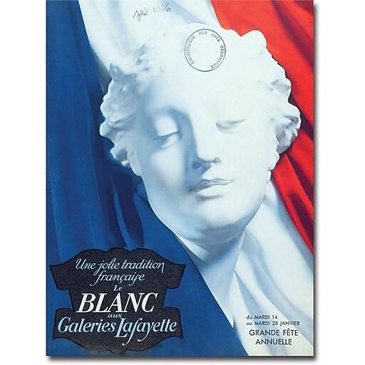 "Trademark Global ""Galeries Lafayette 1936"" Canvas Art, 47"" x 35"""