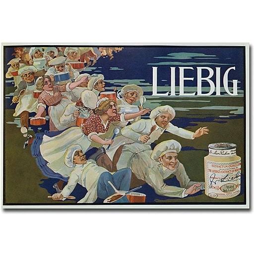"Trademark Global ""Extracum Carnis Liebig"" Canvas Art, 16"" x 24"""