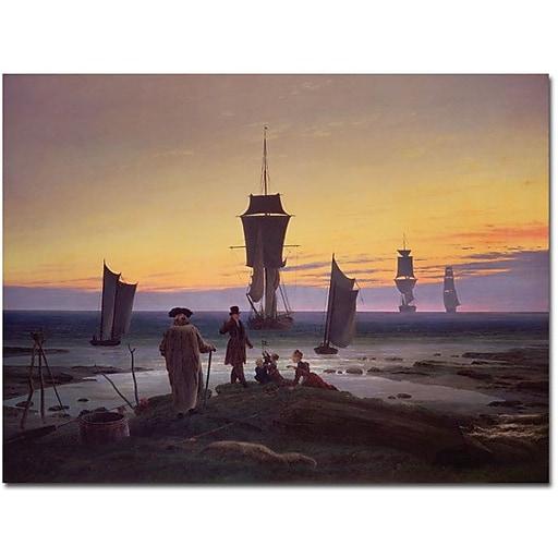"Trademark Global Caspar David Friedrich ""The Stages of Life, 1835"" Canvas Art, 18"" x 24"""