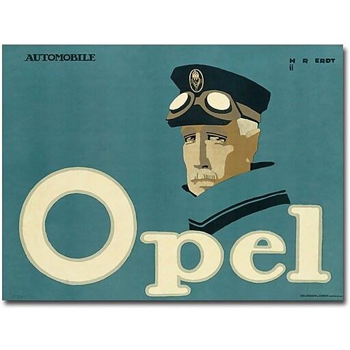 """Trademark Global Hans Rudi Erdt """"Opel 1911"""" Canvas Art, 24"""" x 32"""""""