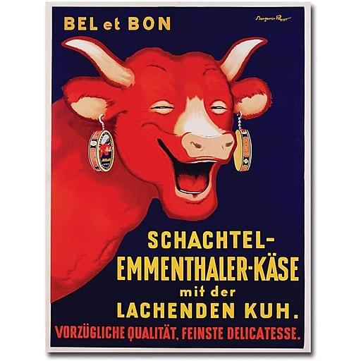 "Trademark Global Benhamin Rabier ""Bel et Bon, 1929"" Canvas Art, 47"" x 35"""