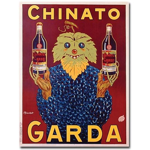 "Trademark Global Bouchet ""Chinato Garda, 1925"" Canvas Art, 47"" x 35"""