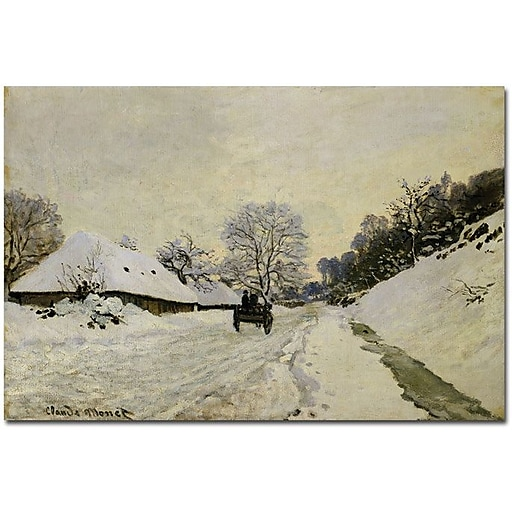 "Trademark Global Claude Monet ""The C1865"" Canvas Art, 30"" x 47"""