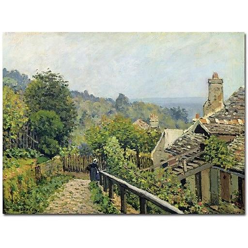 "Trademark Global Alfred Sisley ""Louveciennes, 1873"" Canvas Art, 26"" x 32"""