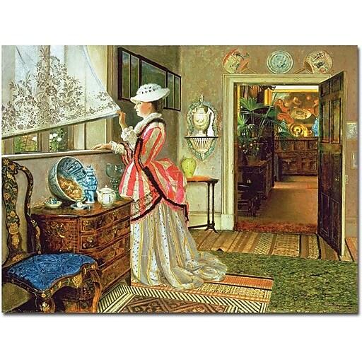 "Trademark Global John Atkinson Grimshaw ""Summer"" Canvas Art, 26"" x 32"""