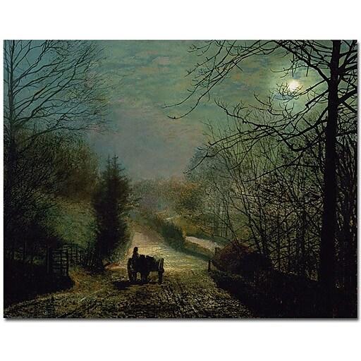 "Trademark Global John Atkinson Grimshaw ""Gorge Valley"" Canvas Art, 26"" x 32"""