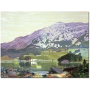 "Trademark Global Manuel Barron y Carillo ""Spanish Landscape"" Canvas Art, 35"" x 47"""