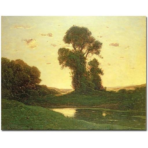 "Trademark Global Henri Joseph Harpignies ""View in the Campagna"" Canvas Art, 26"" x 32"""