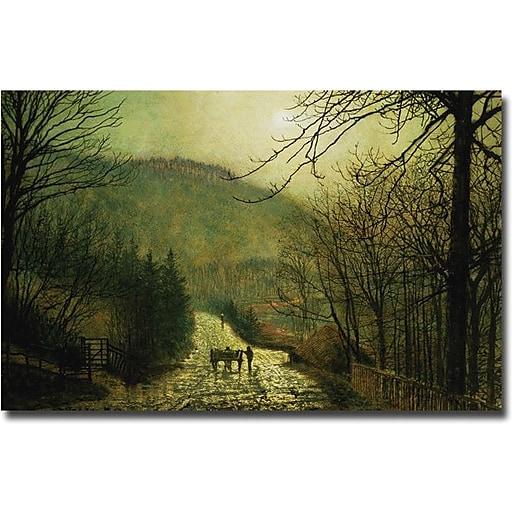 "Trademark Global John Atkinson Grimshaw ""Forge Valley"" Canvas Art, 30"" x 47"""