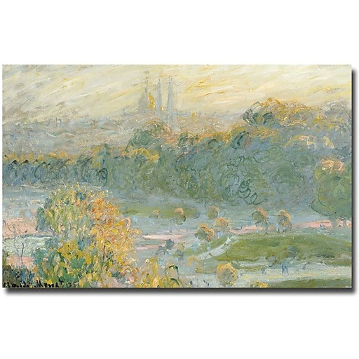 "Trademark Global Claude Monet ""The Tuileries"" Canvas Art, 30"" x 47"""