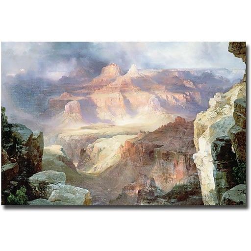 """Trademark Global Thomas Moran """"A Miracle of Nature, 1913"""" Canvas Art, 30"""" x 47"""""""