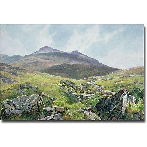 "Trademark Global John Atkinson Grimshaw ""Autumn Sunshine"" Canvas Art, 16"" x 24"""