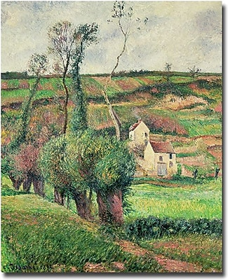 """Trademark Global Camille Pissarro """"The Cabbage Slopes Pontoise, 1882"""" Canvas Art, 18"""" x 24"""""""