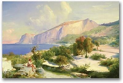 """Trademark Global Karl Blechen """"The Marina Grande"""" Canvas Art, 16"""" x 24"""""""