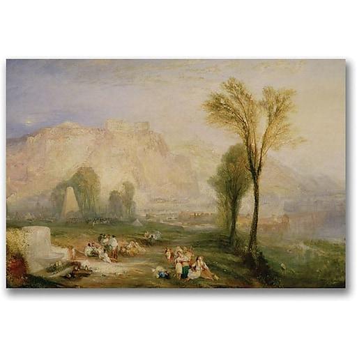 "Trademark Global Joseph Turner ""The Bright Stone of Honour"" Canvas Art, 24"" x 32"""
