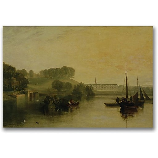 "Trademark Global Joseph Turner ""Petworth Sussex"" Canvas Art, 18"" x 24"""