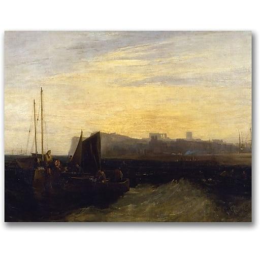 "Trademark Global Joseph Turner ""Margate 1808"" Canvas Art, 18"" x 24"""