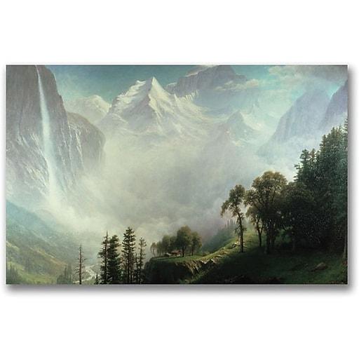 "Trademark Global Albert Biersdant ""Majesty of the Mountains"" Canvas Art, 30"" x 47"""