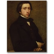 "Trademark Global Edgar Degas ""Self Portrait"" Canvas Arts"