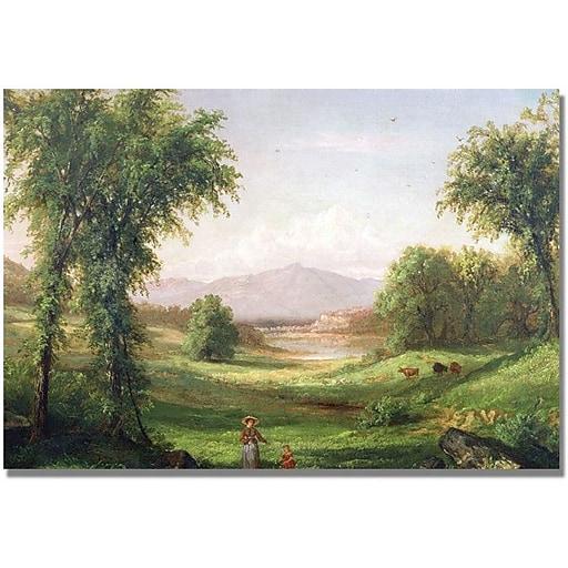 "Trademark Global Samuel Colman ""New Hampshire Landscape"" Canvas Art, 16"" x 24"""