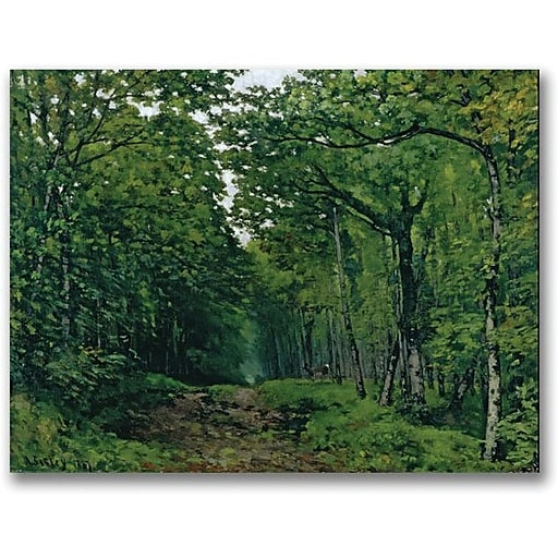 """Trademark Global Alfred Sisley """"The Avenue of Chestnut Trees"""" Canvas Art, 35"""" x 47"""""""