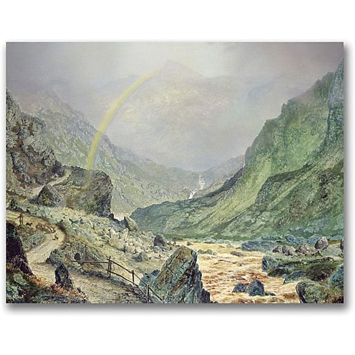 """Trademark Global John Atkinson Grimshaw """"The Seal Of The Covenant"""" Canvas Art, 35"""" x 47"""""""