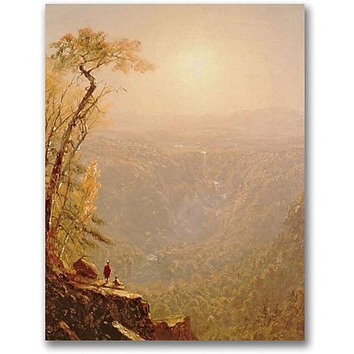 "Trademark Global Sanford Gifford ""Kauterskill Clove in the Catskills"" Canvas Art, 24"" x 18"""