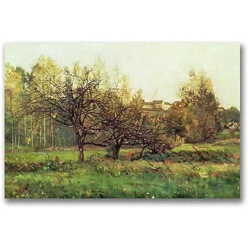 "Trademark Global Charles Daubigny ""Autumn Landscape"" Canvas Art, 16"" x 24"""