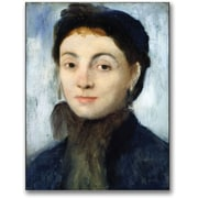 "Trademark Global Edgar Degas ""Portrait of Josephine Gaujelin"" Canvas Arts"