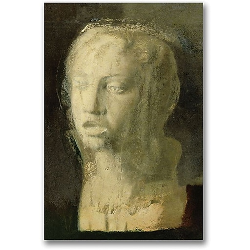 """Trademark Global Edgar Degas """"Study of the Head of a Young Singer"""" Canvas Art, 47"""" x 30"""""""