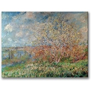 "Trademark Global Claude Monet ""Spring 1880"" Canvas Art, 24"" x 32"""