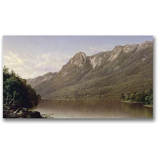 "Trademark Global David Johnson ""Eagle Cliff"" Canvas Art, 30"" x 47"""