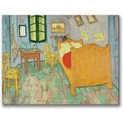"Trademark Global Vincent Van Gogh ""Van Gogh's Bedroom At Arles"" Canvas Art, 35"" x 47"""