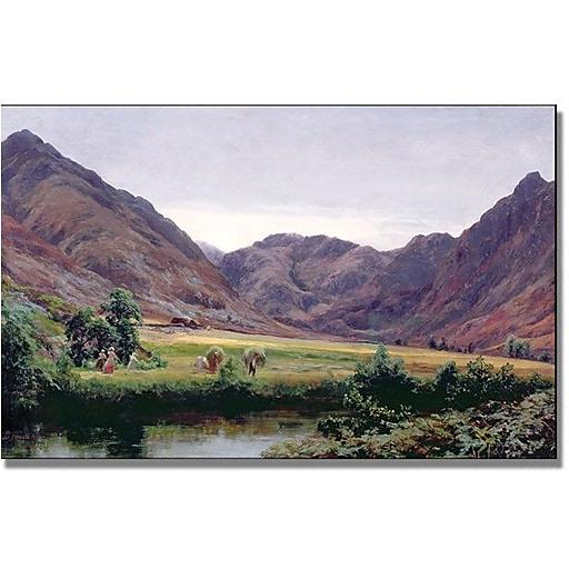 "Trademark Global David Farquharson ""Haydays"" Canvas Art, 30"" x 47"""