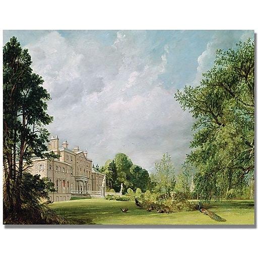 "Trademark Global John Constable ""Malvern Hall"" Canvas Art, 35"" x 47"""