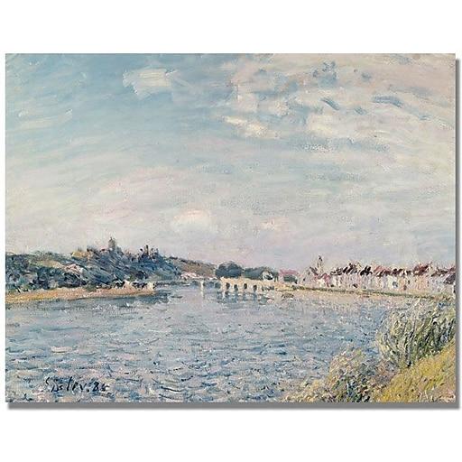 "Trademark Global Alfred Sisley ""Landscape 1888"" Canvas Art, 18"" x 24"""