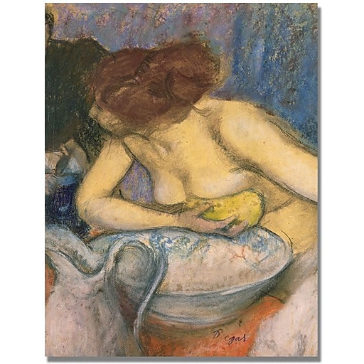 "Trademark Global Edgar Degas ""The Toilet"" Canvas Art, 35"" x 47"""